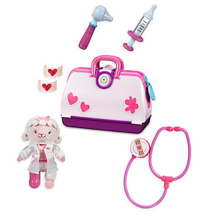 New! ディズニー Doc McStuffins Toy Hospital Play Set with