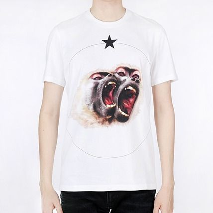16-17AW 【GIVENCHY】 シバンシィ モンキープリント Tシャツ