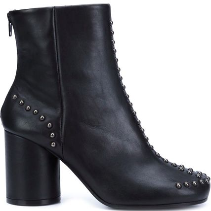 16-17AW MMF058 STUDDED SHORT BOOTS