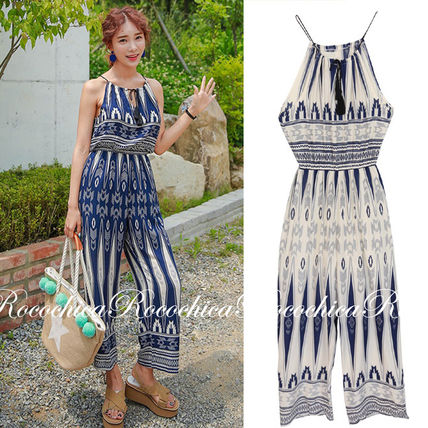 ROCOCHICA ethnic, geometric patterns. jumpsuits