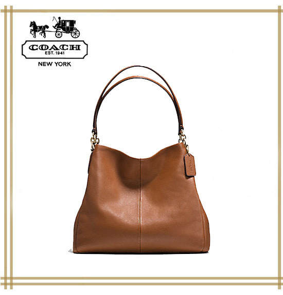 COACH★PHOEBE SHOULDER BAG IN PEBBLE LEATHER F35723 国内発送