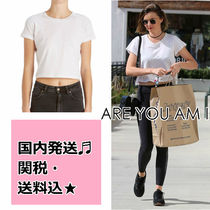 ARE YOU AM I(アーユーアムアイ) Tシャツ・カットソー 送料込♪ARE YOU AM I★ミランダ愛用♪RYLIE ベイビーTシャツ