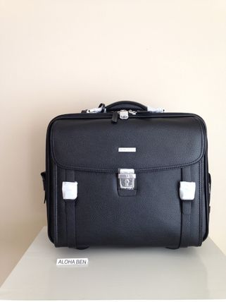 Brooks Brothers Men's Brief Business Case Carry-on / Black