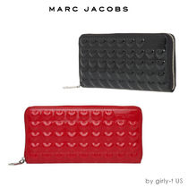 SALE☆MARC JACOBS☆Embossed Heart ハート 長財布