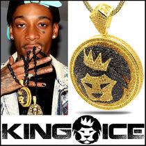 """""""King Ice"""" """"The King Of The Jungle"""" Custom Made Lion Pendant"""