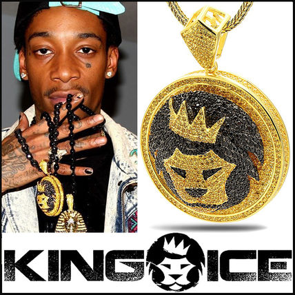 """King Ice"" ""The King Of The Jungle"" Custom Made Lion Pendant"