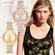 【人気☆新作】Michael Kors  Darci Pave Two-Tone Watch