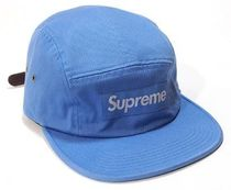 SUPREME WASHED CHINO TWILL CAMP CAP BOX LOGO 16SS レザー