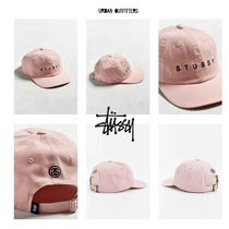 Stussy Pink Strapback Baseball Hat Urban Outfitters コラボ