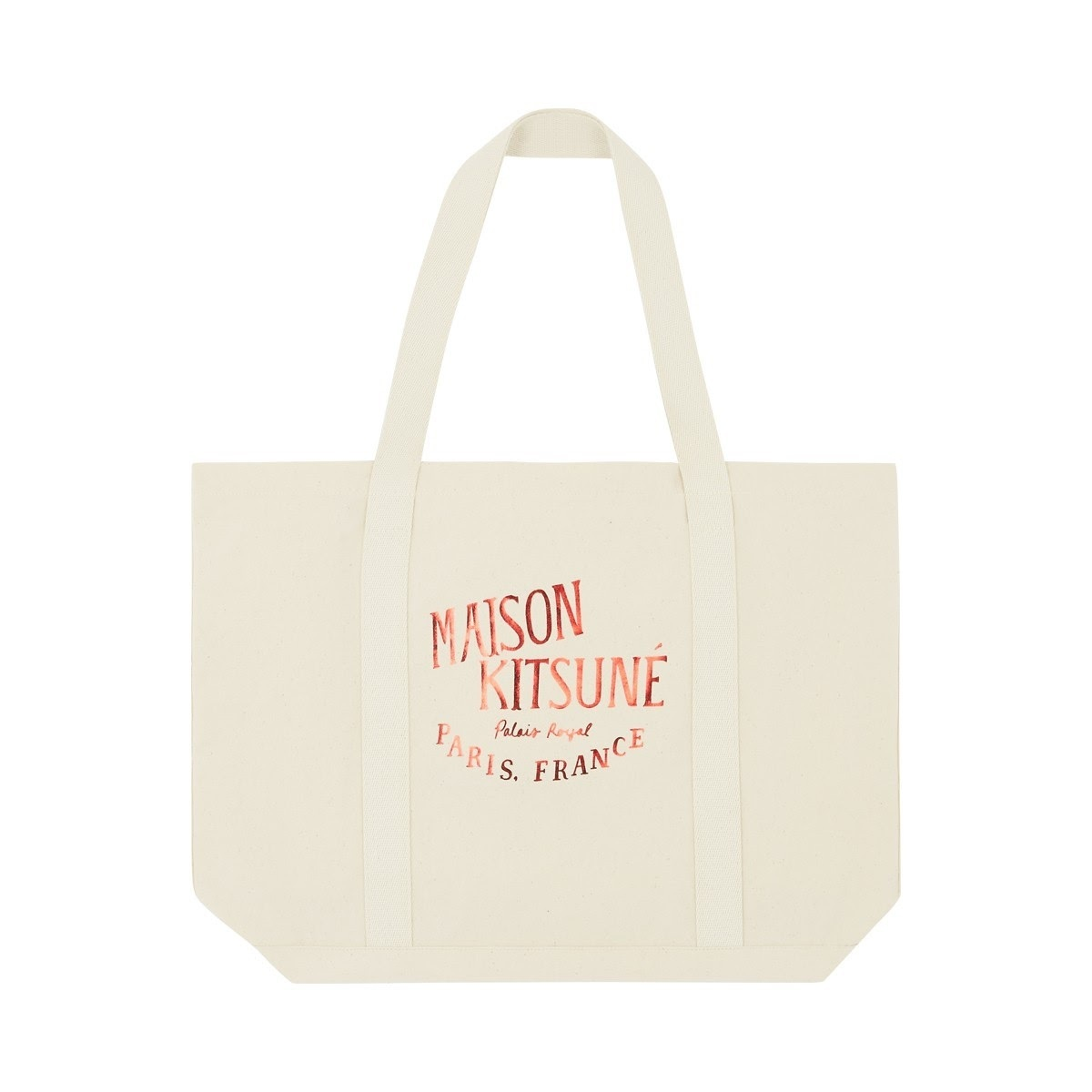 【国内発送】MAISON KITSUNE SHOPPING BAG PALAIS ROYAL★新色♪