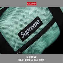 Supreme(シュプリーム) MESH DUFFLE BAG MINT