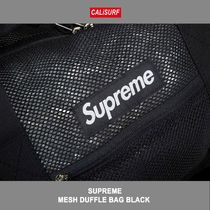 Supreme(シュプリーム) MESH DUFFLE BAG BLACK