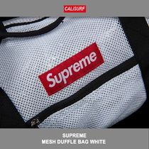 Supreme(シュプリーム) MESH DUFFLE BAG WHITE