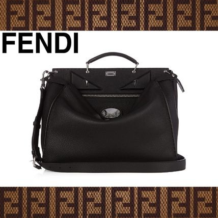 FENDI (フェンディ) Selleria Bag Bugs Peekaboo weekend bag