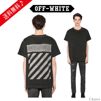16-17AW新作 OFF-WHITE WASHED JERSEY Tシャツ 関税送込