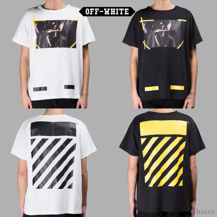 16-17AW OFF-WHITE 新作2色 7 OPERE Tシャツ 関税送料込み