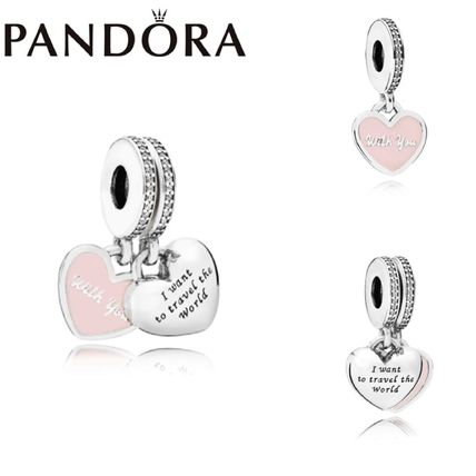 PANDORA/パンドラ/Travel Together Forever Dangle Charm