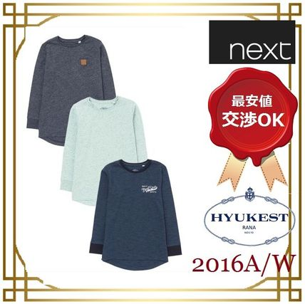 関税&送料無料!next◆Sleeve T-Shirts Three Pack (3〜16 歳)