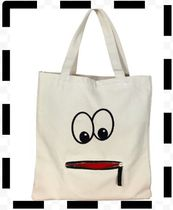 Bag allバッグオールGOOGELY EYE ZIPPER TOTEトートバッグ