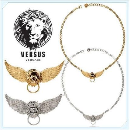 Special WINGED LION HEAD RING necklace