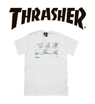 即日発送!THRASHER NECK FACE--BEER FIX Tシャツ