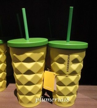 Hawaii limited edition STARBUCKS-Pineapple Stainless Steel