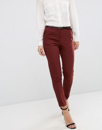 ASOS Cigarette Trousers with Belt