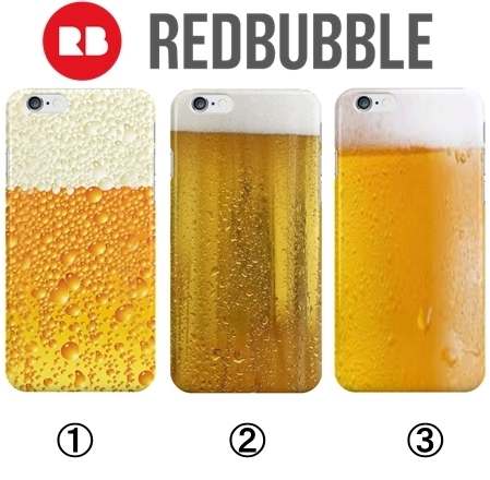 ☆RED BUBBLE iPhoneケース3種☆国内発送/送関込