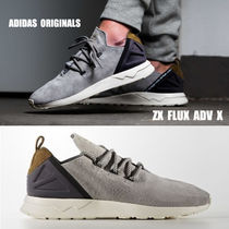 adidas★ZX FLUX ADV X★LIGHT ONIX★スエード★23~27cm