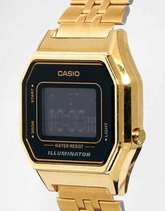 ★Casio★ LA680WEGA Mini Digital Black Face Watch