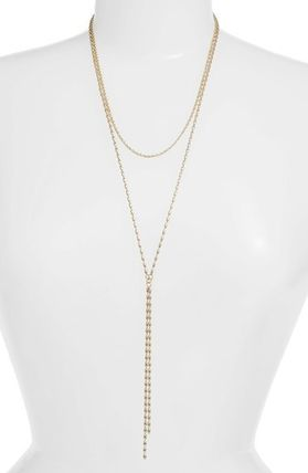 'Karlie' Multistrand Lariat Necklace