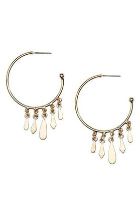 'Clary' Hoop Earrings