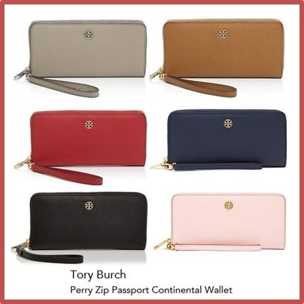 【Tory Burch】PERRY ZIP PASSPORT CONTINENTAL WALLET 6色