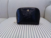 SALE♪ MARION EMBOSSED PATENT COSMETIC CASE