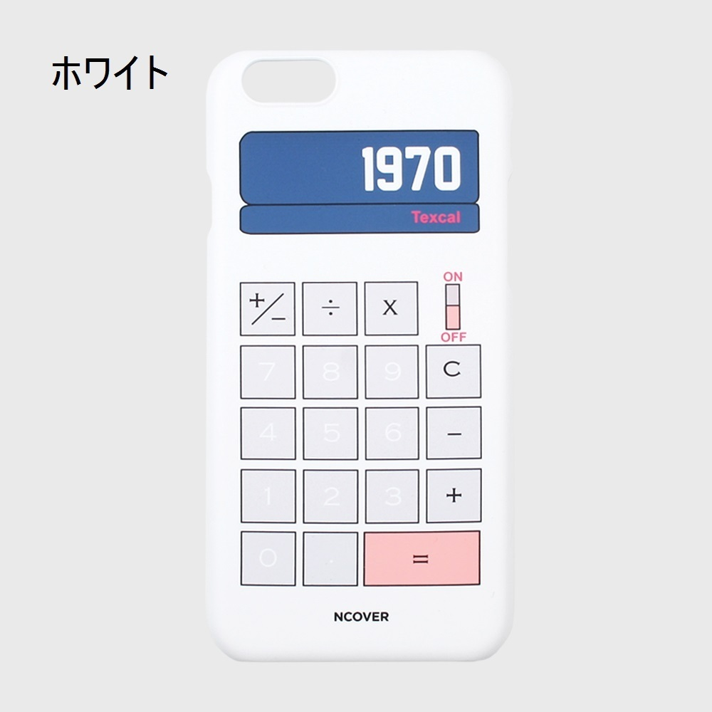 韓国発★NCOVER★ Calculator★iPhone ケース★3色!