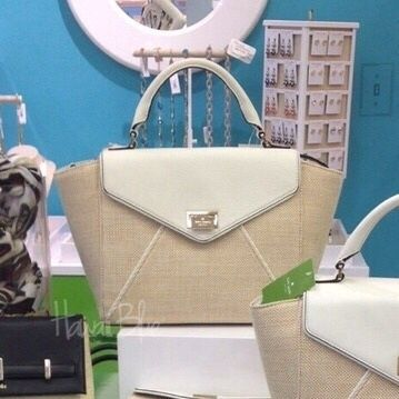 SALE! !kate spadel Magnolia 2Way Bag レザー/ファブリック