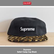 Supreme シュプリーム SUPREME CAMP CAP BLACK
