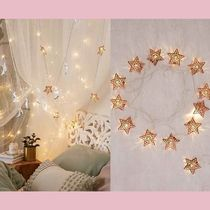 Urban Outfitters(アーバンアウトフィッターズ) 照明 【Urban Outfitters】 キラキラ★スターライト Copper Star