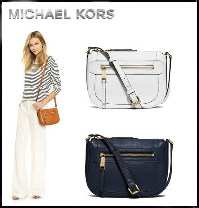 MICHAEL KORS★Julia Medium Leather Messenger 国内即発!