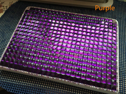 New Hand-Made Luxury Bling Fashion PU Leather Cover For