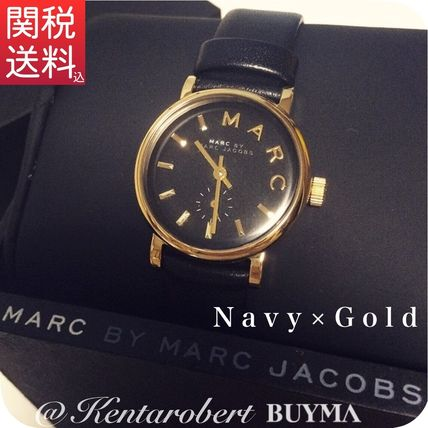 ★Marc by Marc Jacobs 腕時計 36mm BAKER ベイカー レザー