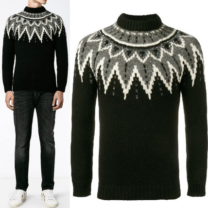 16-17AW SLP261 SEQUIN EMBELLISHED SWEATER
