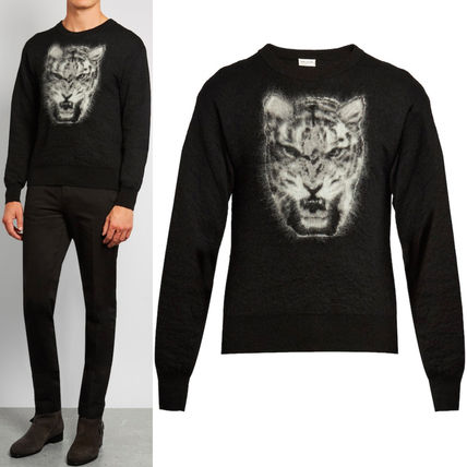 16-17AW SLP265 TIGER HEAD SWEATER