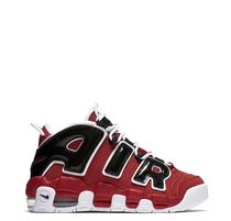 SS16 NIKE MORE UPTEMPO RED BLACK GS 22.5-25cm 送料無料