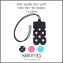 【即発】 全3色 IDホルダー Kate Spade WHO ME? ID HOLDER