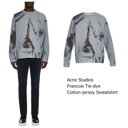 ACNE Francois Tie-dye Cotton-jersey 絞り染めスウェット