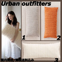 Urban Outfitters(アーバンアウトフィッターズ) クッション・クッションカバー Urban Outfitters 新作 柔らか素材 大きめクッション 国内発送