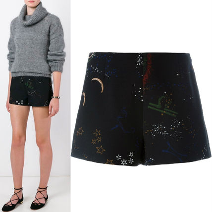 "16-17AW V409 ""ASTRO COUTURE"" CREPE COUTURE SHORTS"