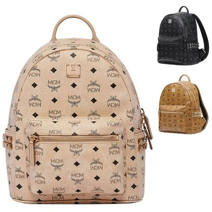 MCM Eagle EMS shipping / AW16 small backpack stark