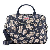 [Cath Kidston正規品] LAPTOP BAG MONO POPPIES NAVY